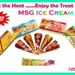 A perfectly new gift in this summer!! Enjoy #MSGproducts4U Ice cream varieties offered exclusively by @MSGalltrading https://t.co/NBpOFcKUH5