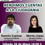 @RamonEspinar este sábado en #LaRoda ¡¡¡Os Esperamos!!! #LaRoda #Albacete #EnLaRodaPodemos https://t.co/IZKlyu2X0s