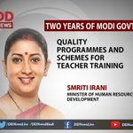 Government schools shall meet the standards of private schools: @smritiirani https://t.co/xqa4CK3nxc