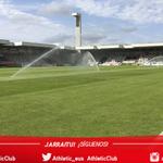 Lasesarre ya está preparado para recibir a Bilbao Athletic y @Alaves #BATvALV #lezama https://t.co/TZspgmLOlp