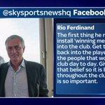 SOCIAL: Rio Ferdinand has reacted to Jose Mourinho joining Man Utd on Facebook. LIVE BLOG: https://t.co/TI8f5bYrJp https://t.co/OCZJHeikku