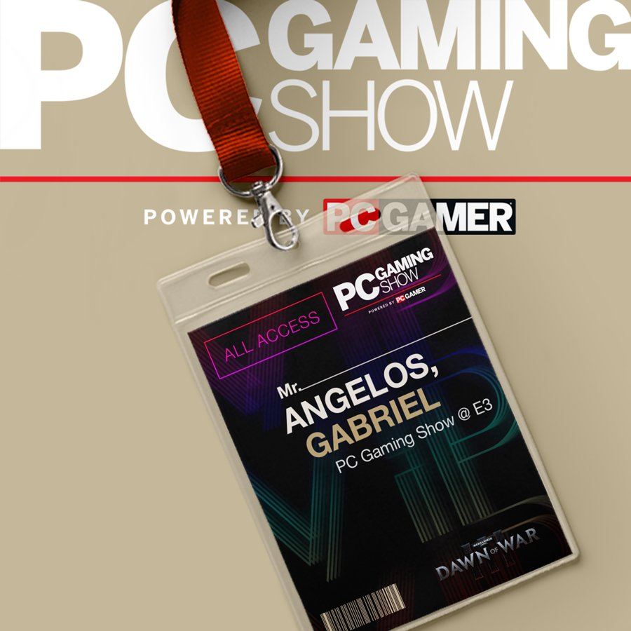 That's right! We'll be at the #PCGamingShow at #E32016! Tune in on June 13 at 11:30 AM PDT for exclusive gameplay! https://t.co/TDoRCau0V7