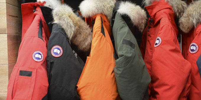 Canada Goose' retail stores toronto