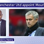 Thierry Henry is on #SSNHQ now reacting to Man Utd appointing Mourinho. More here: https://t.co/TI8f5bYrJp https://t.co/9EYaHkxboR