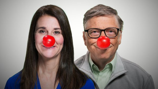 Time to get silly and help kids around the world. For every #RedNose4Kids, @GatesFoundation will give $25. RT now! https://t.co/94XHJerGzI