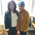 My fan moment with a really humble and inspirational lady @BegumNadiya https://t.co/y48TLxl5BH