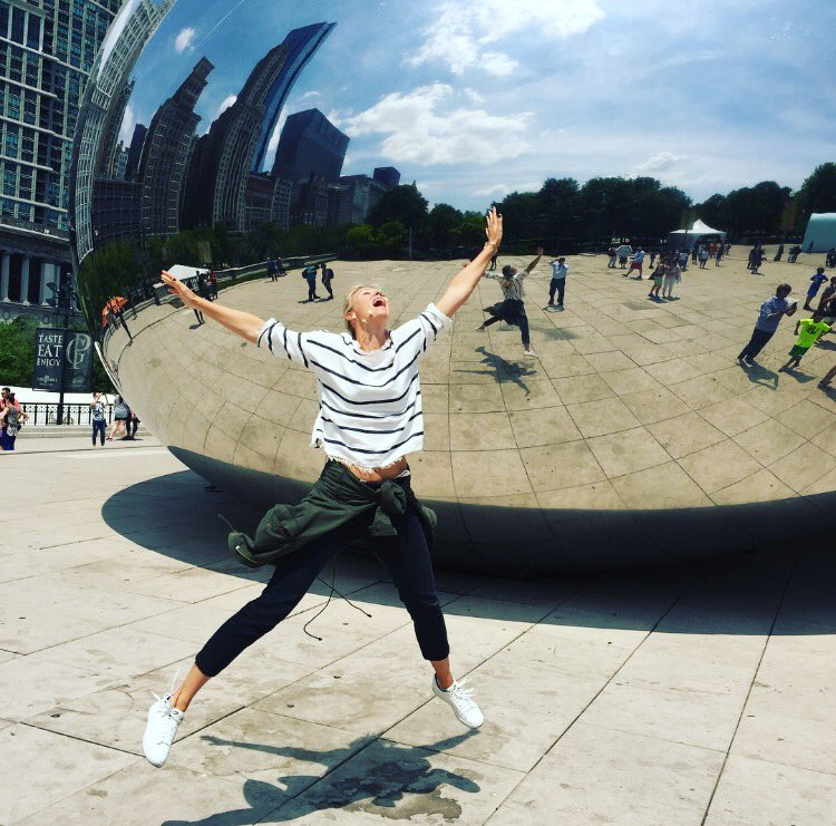 When you're a tourist in Chicago...fun city! https://t.co/38nUkifqaJ