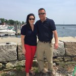 Promo shoot today by the water with @jdesnoyersabc6 @ABC6 https://t.co/SKbG8loxpp