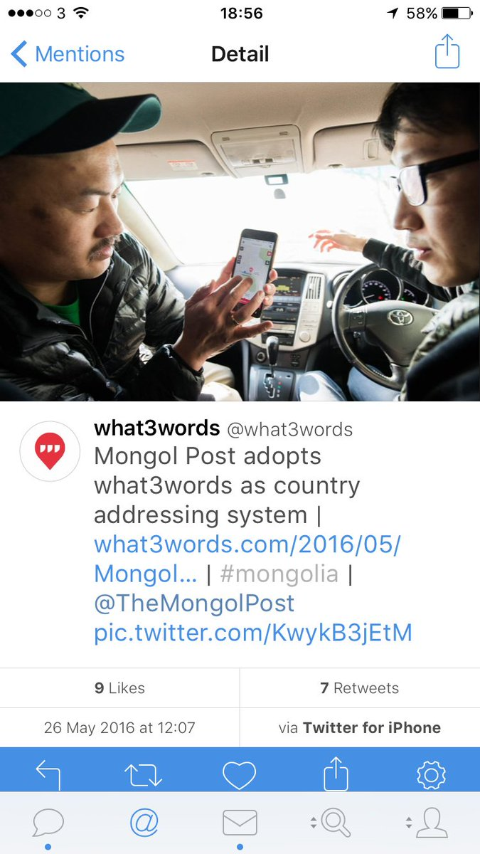 How often in a career do you get to address a country? A. Whole. Massive. Huge. Country? #what3words https://t.co/RxUgUUWVrU