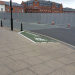 Could this be the worlds shortest cycle path? You can find it on Snow Hill, Wolverhampton (Image: @WolvesOnWheels) https://t.co/uyzBjNcVul