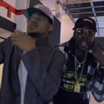 """Watch @chancetherappers video for """"No Problem"""" featuring @2chainz & @LilTunechi https://t.co/DNW0gWUBCc https://t.co/o6Ckh9yIVS"""