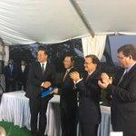JICA entrega al Presidente de la República @JC_Varela orden de proceder para la Gerencia del Proyecto de #Línea3 https://t.co/SbdrPBEu3D