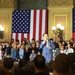 @DavidChiu warming up the crowd @HillaryClinton campaign event #SF #SanFrancisco https://t.co/LveAtIJbyO