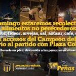Están los hinchas de Peñarol que pintan amenazas y están estos, que por suerte son muchos más. A difundir... https://t.co/lymVbTlAIT