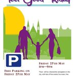 If youre coming into town for #FeelGoodCork tomorrow theres FREE PARKING in North Main St Car Park from 6.30-9 PM https://t.co/aLSk3lXEUq