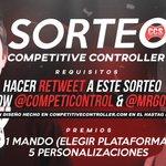 😱😱 SORTEAZO!! 😱😱 Sigue a @CompetiControl y @MrGoorgo  y DA RT a este TWEET!! SUERTE A TODOS!! https://t.co/n8giw2ReFT