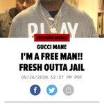 Hes out!!!! @gucci1017 https://t.co/1Ssj0wwMOr