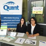 Great turn out at the Mini Job Fair today! Over 200 motivated job seekers & 6 great employers! @quintsaskatoon #yxe https://t.co/9IXcDly2t0