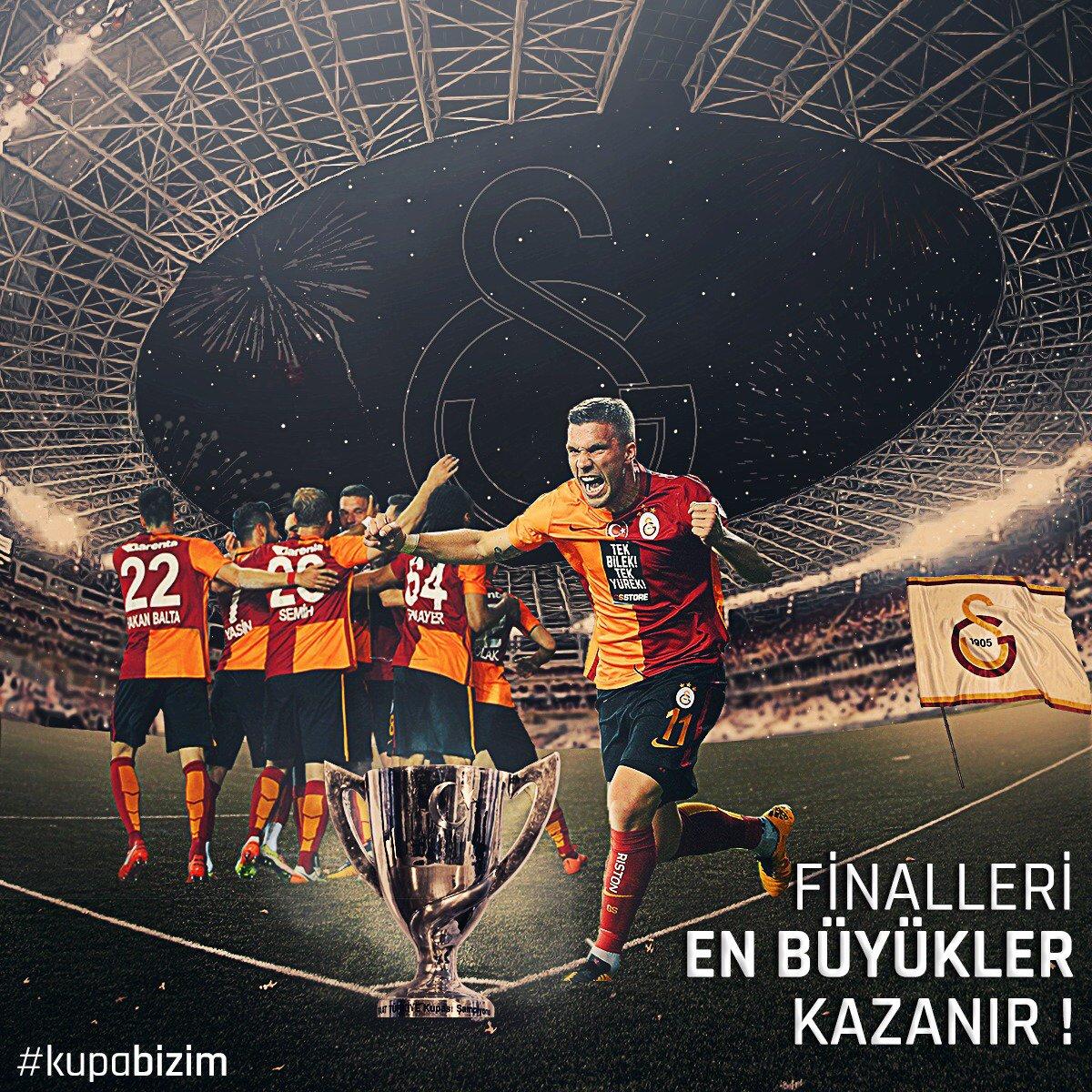 Finalleri En Büyükler Kazanır! #KUPABİZİM https://t.co/Z23dKiHov4