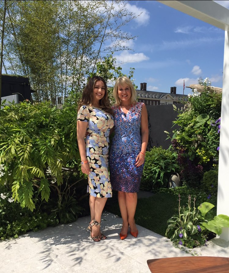 RT @Nicki_Chapman: We've had some amazing guests #RHSChelseaFlowerShow Delighted to spend time with passionate gardener @IAMKELLYBROOK http…