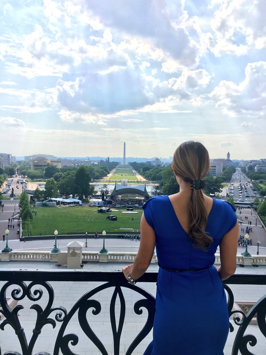 Thank you @SpeakerRyan for the view of your balcony! #CapitolHill