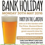 Whats your plans for #BankHolidayMonday? Were having a party in the garden!!! #Solihull #Weekend @Solihullhour https://t.co/bfxGamG68u