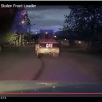 Watch: Man in stolen front-end loader leads police on a low-speed chase through Anchorage https://t.co/z8MLhJlFHr https://t.co/OxT096SMow