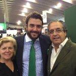 El #Senador Antonio Alarcó hoy con @GonzaloTenerife e Isabel Massieu en @GastroCanarias #Alimentación #Restauración https://t.co/3IznN9itIm