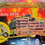 #TEMUCO apoya a @segundatemuco  @bomberostemuco #RIFA 31 de mayo sortea una motocicleta Solo $1.000 @reddeemergencia https://t.co/aEkndGQnY6
