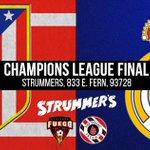 Champions League final Saturday.  Come hang w/ us at @StrummersFresno.   Details: https://t.co/wpLMJGqnny https://t.co/o0yEU5y4rj