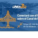 La construcción de la #Línea3 y el #4toPuente sobre el Canal, facilitará el traslado de miles de personas. https://t.co/eX9B9oTJNH