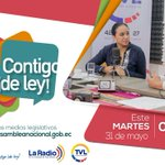 Todos los martes, 08:00, sigue el programa #ContigoDeLey con @GabrielaEsPais. En vivo por https://t.co/TzPcy67LVv https://t.co/nMU35BYZHI