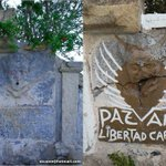 ¿Alguien sabe quién ha sido el cafre que ha pintado la fuente de la ermita de La Muela? #cartagena #vandalismo https://t.co/RpFmYgFRiB