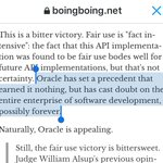 Great point from @doctorow. The only real winners in Oracle v Google are the lawyers. https://t.co/s2LQfKclrF https://t.co/5uodDdk7dN