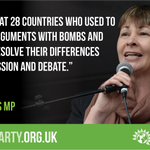 The EU is at its heart a peace project - we should celebrate that. #bbcqt #GreenerIN #EUref https://t.co/hNxjddLXXT
