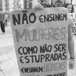 A CULPA NUNCA É DA VÍTIMA!!!! #EstuproNuncaMais https://t.co/PAaUwbnvsZ
