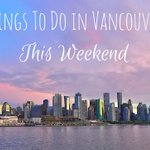Things to do in Vancouver This Weekend https://t.co/wAtCdXtMQi #events #yvr https://t.co/zZKZHzM5Z1