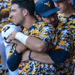 That feeling when your DH crushes a 3-run triple.   Kyle Davis puts @WVUBaseball up 7-3 on Texas Tech. https://t.co/ug3BuNVI8c