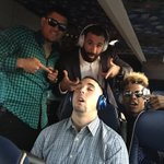 When bae falls asleep on the bus...😂😂😂 #GotHeem @RobertoOsuna1 @Encadwin @MStrooo6 @A_Sanch41 https://t.co/nz6BUTphd8