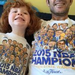Wearing our @Warriors Championship shirts. Lock in! #dubnation. STAY LIFTED! STAY STRONG! https://t.co/KaKcGLWbCc