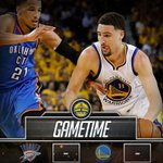 GAMETIME: Warriors look to stay alive as they take on the Thunder in Game 5. #DUBNATION https://t.co/Z5Ba9bB71S