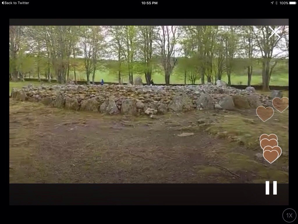 Watch on #Periscope: 4,000 Year Old Burial Tombs