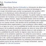 PROudistas informa: Atención #UdistasBolívar información de última hora sobre  el semestre I-2016 @elcafe2006 https://t.co/OqLhgRa3zk