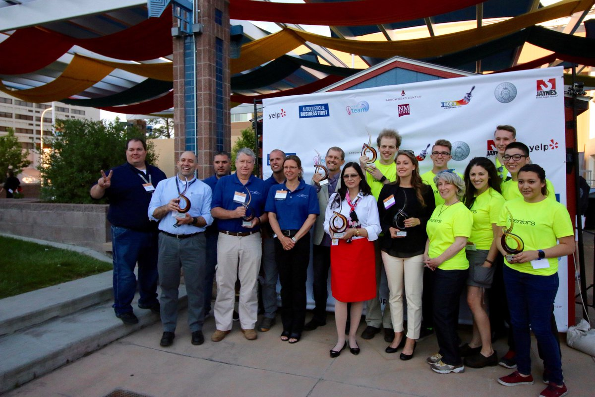 Business First's inaugural Innovation New Mexico winners revealed https://t.co/o0ZZp7HOkH #InnovationNM https://t.co/RSh29mZHkx