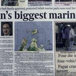 State Gov gazetted nearly 900k hectr at northern sea of Sabah as Marine Park @MasidiM @ke_pkas @sabahtourism @KKCity https://t.co/O8mE9InD9y