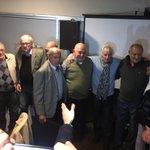 Abrazados como en los viejos tiempos: los campeones de 1966, glorias de Peñarol https://t.co/Ylv2JHLhdF