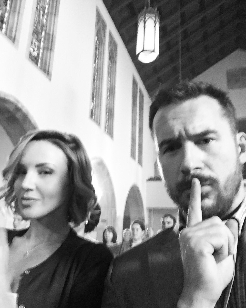 Shhhh... We are in the lords house said Joe Graves of #sixonhistory @HISTORY @SixHistory @BarrySloane https://t.co/thW3V2b5Pl