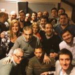 Todo el equipo de @CompromisoCAP junto a las glorias de la Libertadores del 66. Peñarol Peñarol! https://t.co/NB3S1irgKa