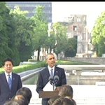 """Seventy one years ago, death fell from the sky and the world was changed,"" says Pres Obama at Hiroshima Memorial. https://t.co/nvSZ8PNO2f"