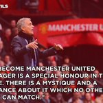 Jose Mourinho on his new club... #MUFC #WelcomeJose https://t.co/CFkOdql2Rt